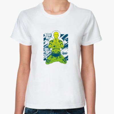 Классическая футболка Мир тебе!