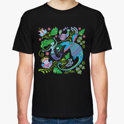 Футболка Русалка и дракон
