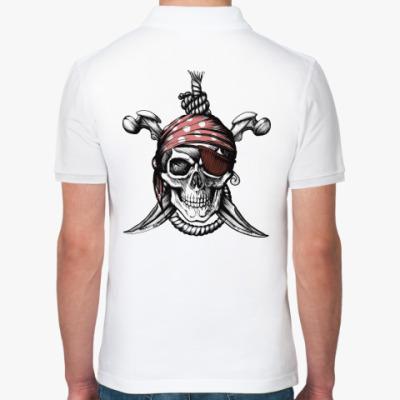 Рубашка поло Весёлый Роджер