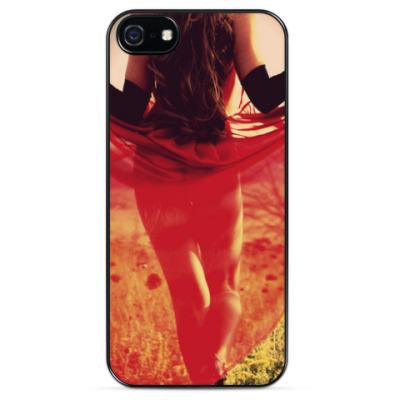 Чехол для iPhone Lady in red