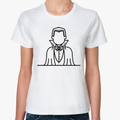 Классическая футболка Дракула
