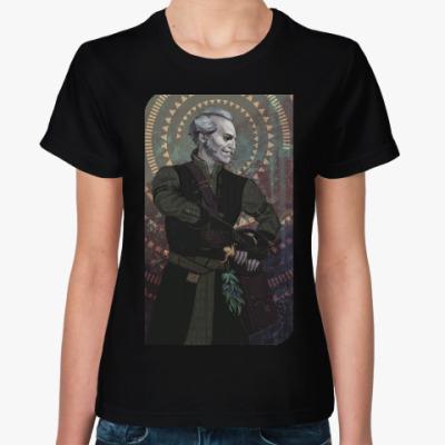 Женская футболка The Witcher. Вампир Регис
