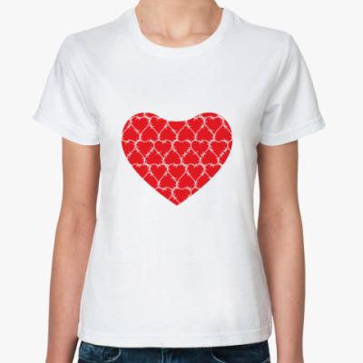 Классическая футболка  CrazyLove