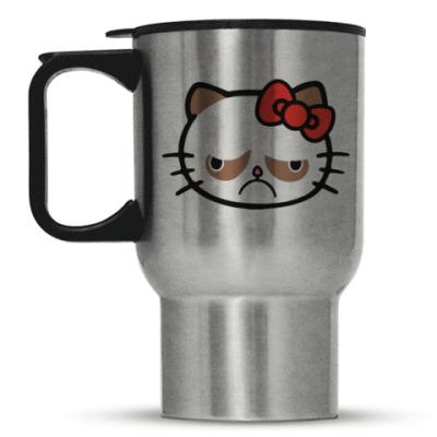 Кружка-термос Hello Grumpy Cat