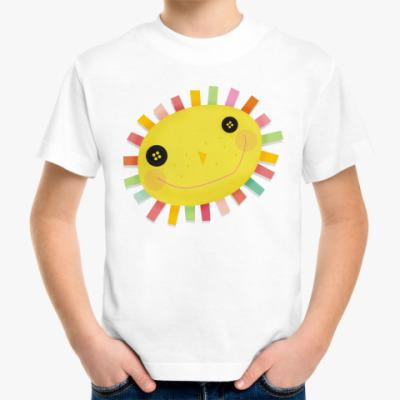"""Детская футболка Детская футболка """"Солнышко"""""""