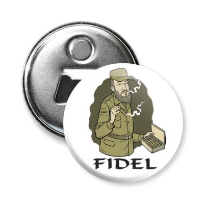Магнит-открывашка Fidel