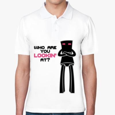 Рубашка поло Enderman