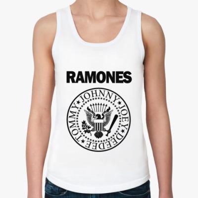 Женская майка Ramones  майка