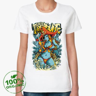 Женская футболка из органик-хлопка Pirate
