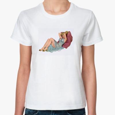 Классическая футболка Pin-up