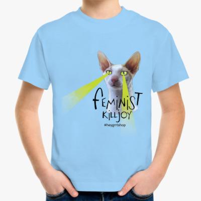 Детская футболка Feminist Killjoy детская