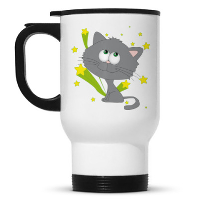 Кружка-термос Space cat