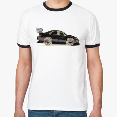 Футболка Ringer-T Toyota MarkII Style BLACK