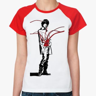 Женская футболка реглан   Уэда
