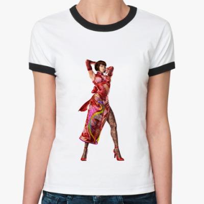 Женская футболка Ringer-T Анна Уильямс