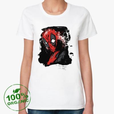 Женская футболка из органик-хлопка Deadpool