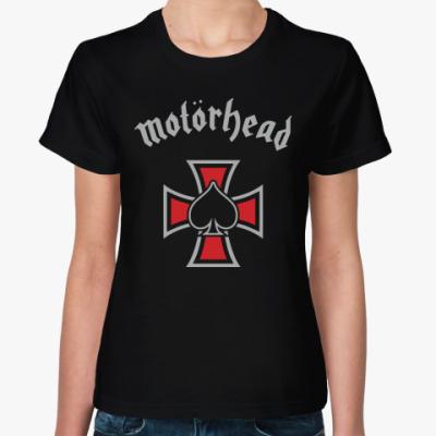 Женская футболка Motörhead
