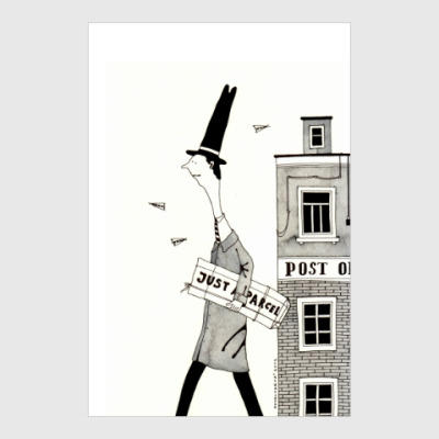Постер A parcel
