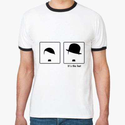 Футболка Ringer-T Все дело в шляпе