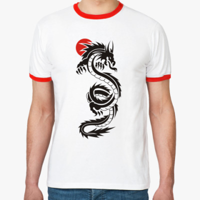 Футболка Ringer-T  'Dragon'