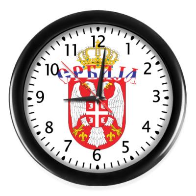 Настенные часы Малый герб Сербии