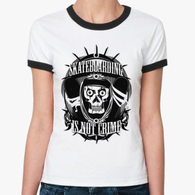 Женская футболка Ringer-T Skate  Ж ()