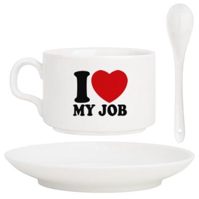 Кофейный набор Люблю свою работу