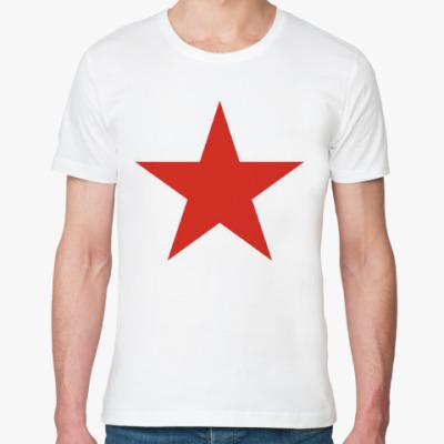 Футболка из органик-хлопка Красная звезда