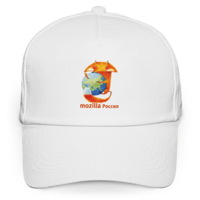 Кепка бейсболка Кепка Mozilla Rus