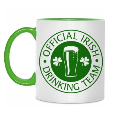 Кружка Irish Drinking team'