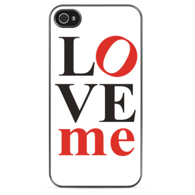 Чехол для iPhone LOVEme