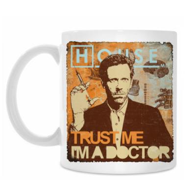 Кружка Trust doctor House