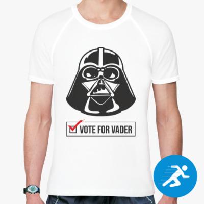 Спортивная футболка Vote for Vader