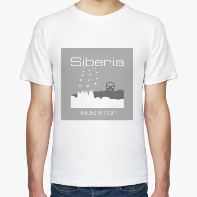 Футболка Siberia Bus-Stop T-Shirt