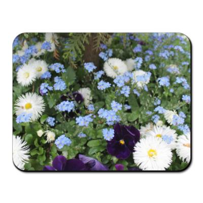 Коврик для мыши Цветочный ковёр