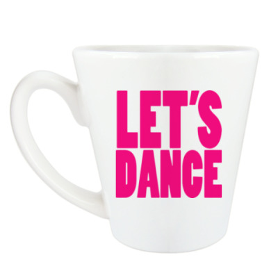 Чашка Латте Let's dance