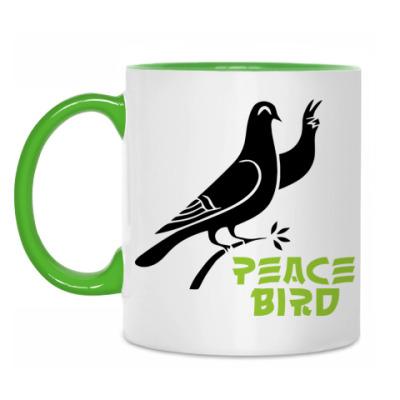 Кружка Peace Bird