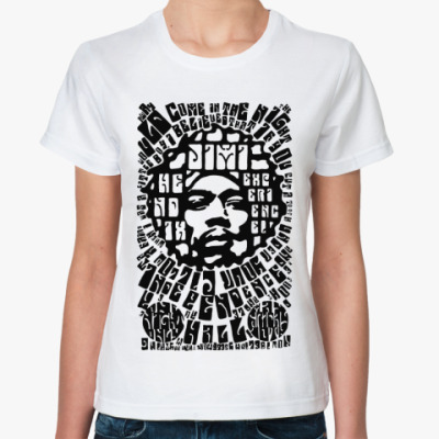 Классическая футболка Hendrix  exp Жен