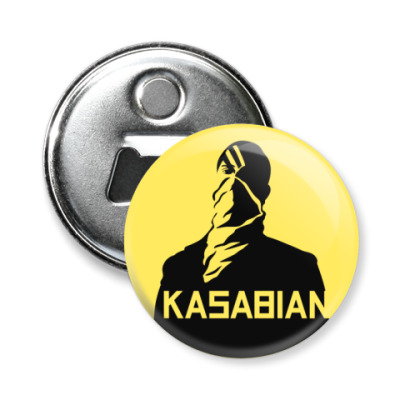 Магнит-открывашка Kasabian