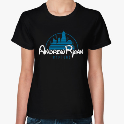 Женская футболка BioShock Andrew Ryan