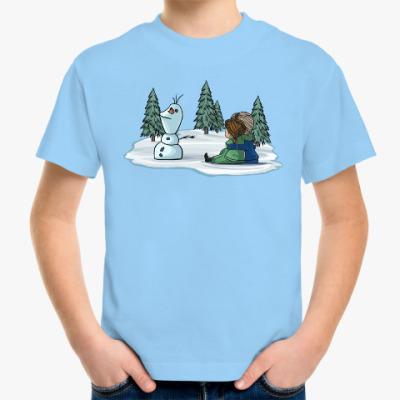 Детская футболка Анна и Эльза