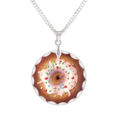 Кулон  пончик