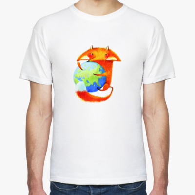 Футболка  Mozilla.Россия