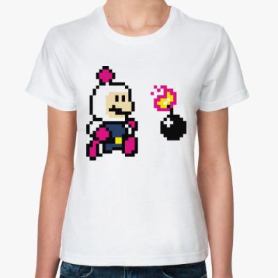 Классическая футболка Марио бомбермен