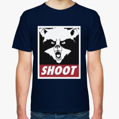 Футболка Raccoon Shoot