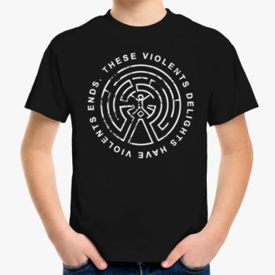 Детская футболка Бурных чувств неистовый конец