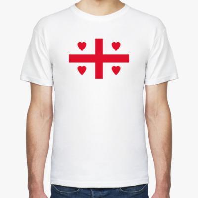 Футболка 'Сердца Грузии'
