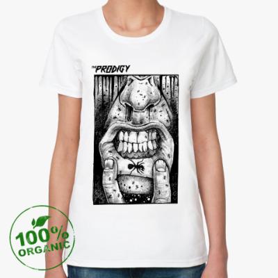 Женская футболка из органик-хлопка  органик The Prodigy
