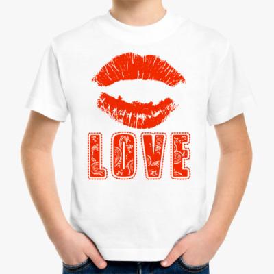 Детская футболка LOVE