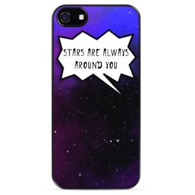 Чехол для iPhone Stars are always around you